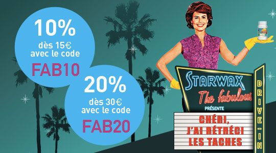 Promotion : LE DRIVE-IN STARWAX THE FABULOUS