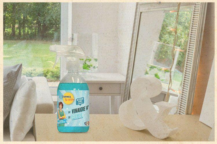 bannière nettoyant vitres