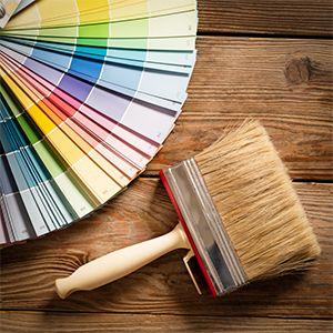 Nuancier de couleur pour peinture