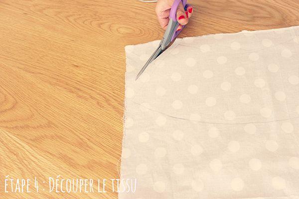 Etape 4 : Découper le tissu