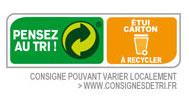 Etui carton à recycler
