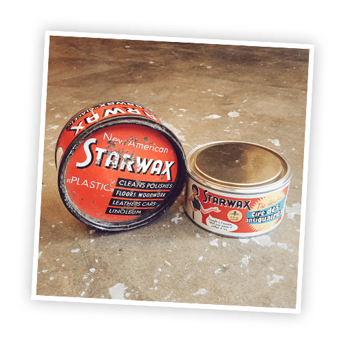 Historique : La cire des antiquaires Starwax The Fabulous