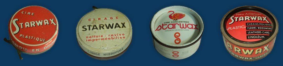 Historique : cires Starwax