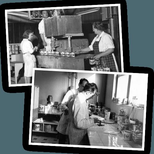 Historique : L'usine et le labo de Starwax