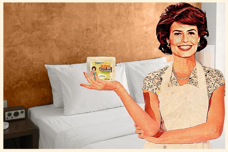 Linge-blanc savon de marseille