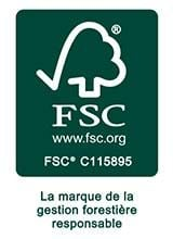 Logo FSC - La marque de la gestion forestière responsable