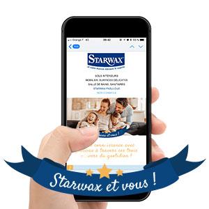 La newsletter Starwax & vous