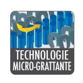 Technologie micro-grattante microfibre Starwax