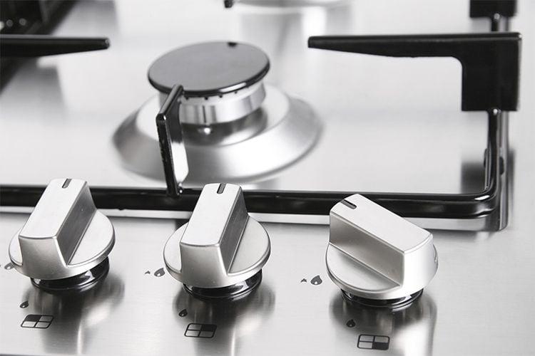 Plaque de cuisson en inox