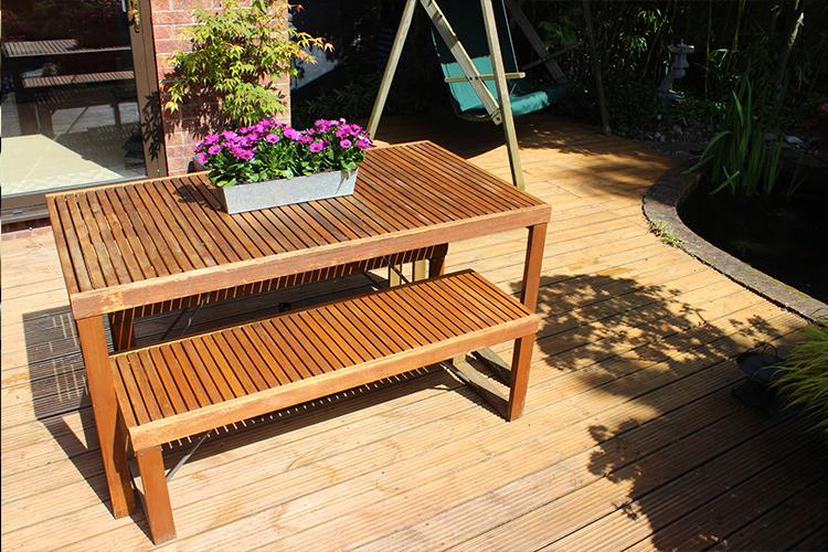 Comment raviver les meubles de jardin en bois ? - Starwax