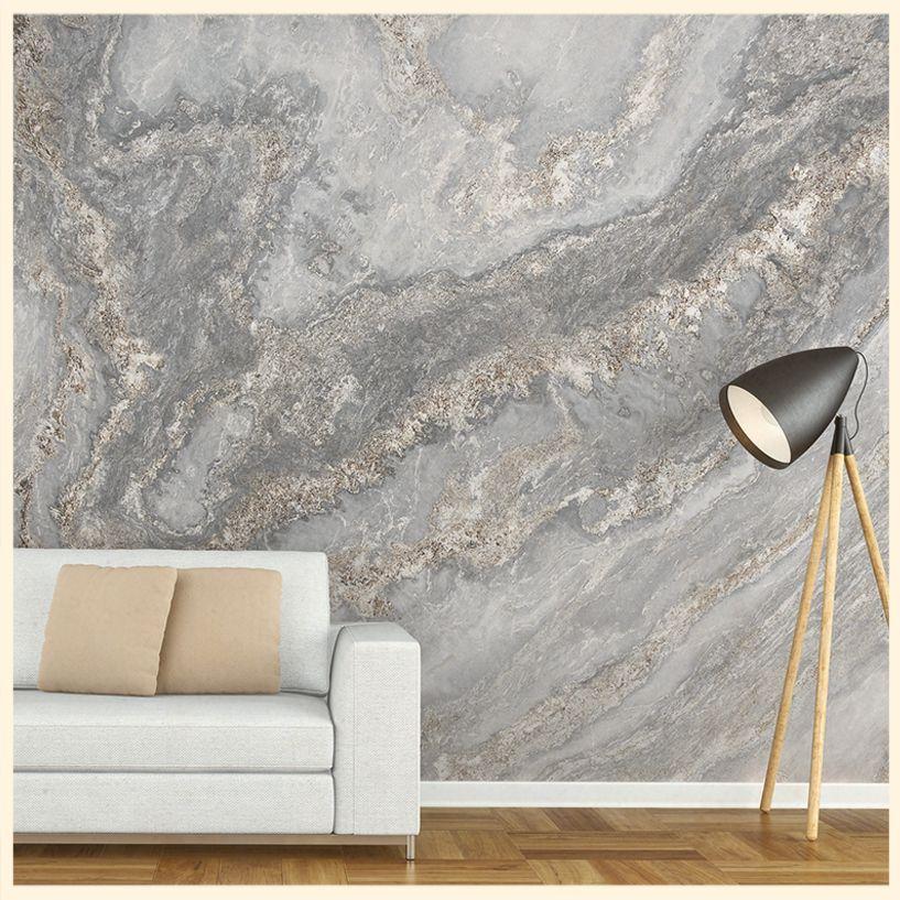 salon motif marbre