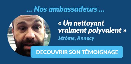 Jérôme, fidèle aux conseils de son droguiste, est l'ambassadeur Starwax de juin