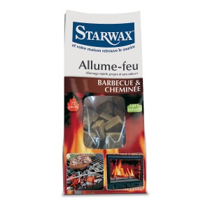 Allume-feu pour cheminée et barbecue - Starwax