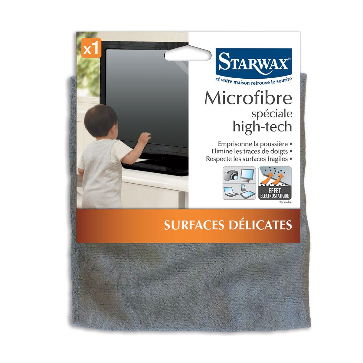 Microfibre pour appareils high tech (télévision, smartphone, tablette...) - Starwax