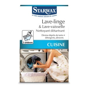 Nettoyant détartrant pour lave linge et lave vaisselle - Starwax
