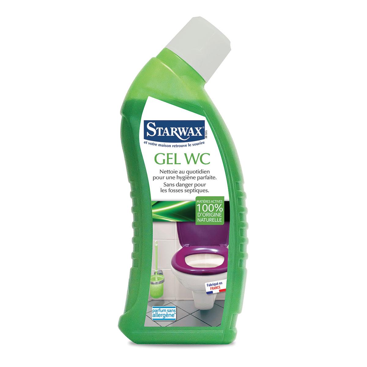 Gel WC avec matières actives 100% d'origine naturelle - Starwax