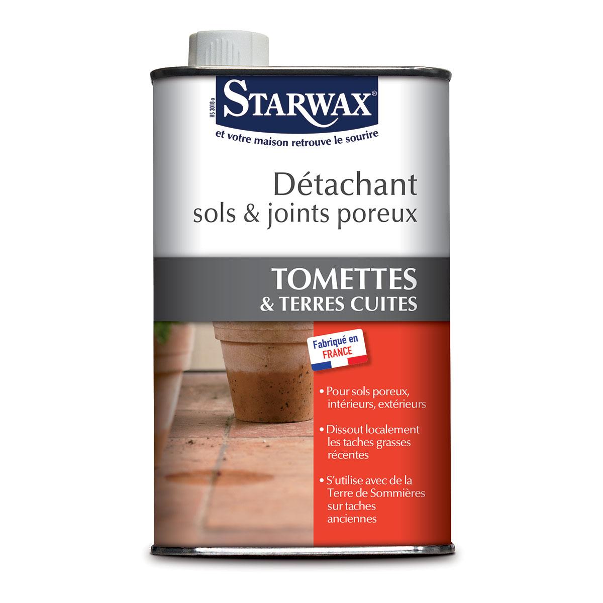 detachant sols joints poreux sols carreles starwax