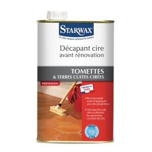 decapant cire tomettes terres cuites starwax