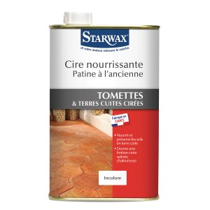 cire patine ancienne tomettes terres cuites starwax