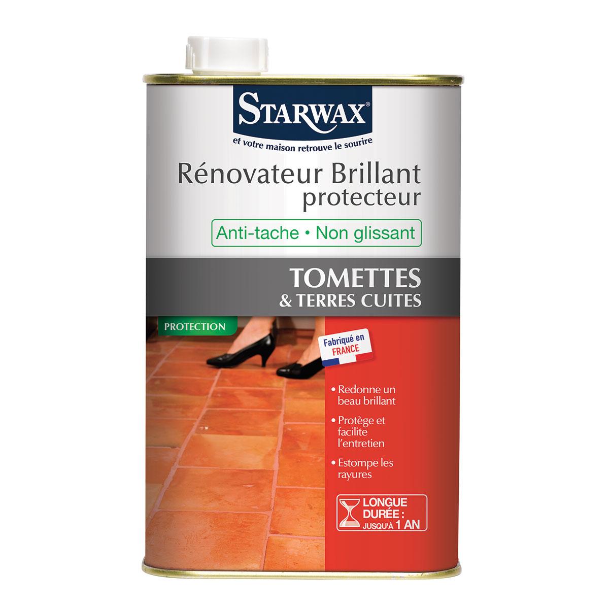 brillant protecteur tomettes terres cuites starwax