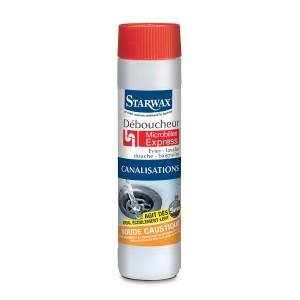 Déboucheur microbilles pour canaliations (évier, lavabo, douche, baignoire...) - Starwax