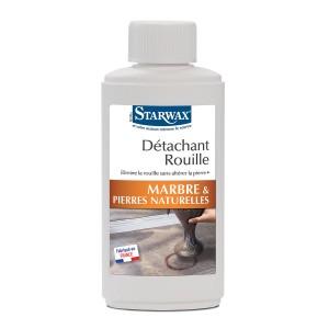 detachant rouille marbre pierres naturelles starwax