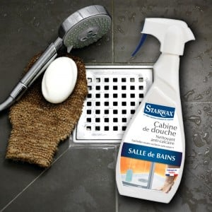 eliminer tartre calcaire de la salle de bain starwax. Black Bedroom Furniture Sets. Home Design Ideas