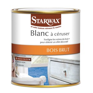Blanc à céruser pour bois brut - Starwax