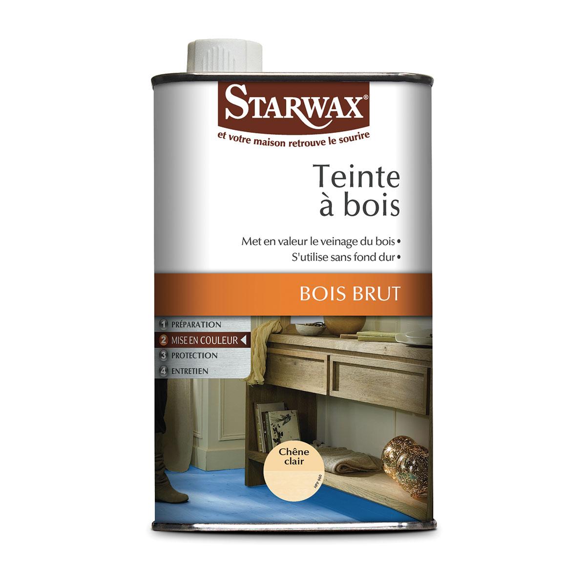 Teinte bois starwax produits d entretien maison for Huile pour meuble en bois