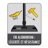 Manche du balai expert Starwax en aluminium pour plus de légèreté et de résistance