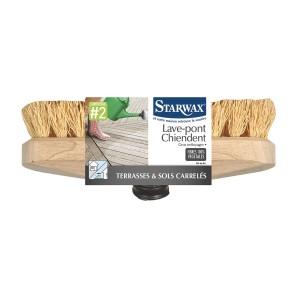 Lave-pont chiendent pour terrasse et sol carrelé - Starwax