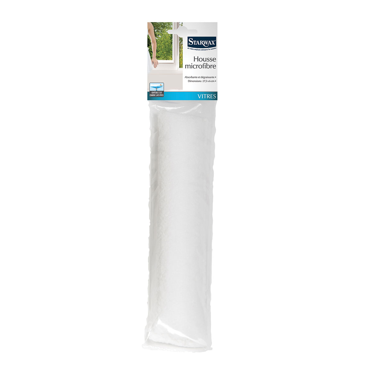 Housse microfibre pour combin lave vitres starwax produits d entretien maison - Produit deperlant pour vitres ...