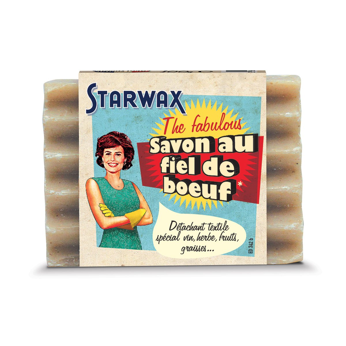 Savon détachant au fiel de boeuf - Starwax The Fabulous