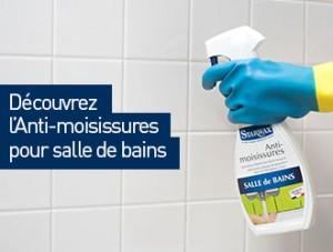 Anti-moisissures pour joints de carrelage de salle de bains - Starwax