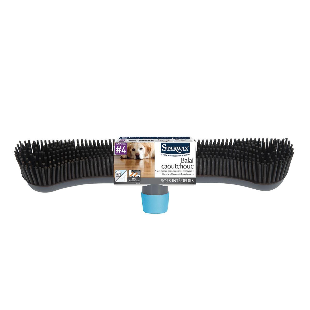 Balai caoutchouc d 39 int rieur starwax produits d - Meilleur aspirateur balai pour poils d animaux ...