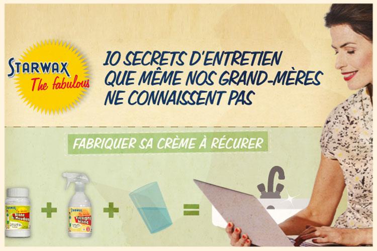 Bannière -10 secrets d'entretiens - Starwax The Fabulous