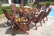 Comment redonner de la couleur aux meubles de jardin en bois exotique et en teck ?- Starwax