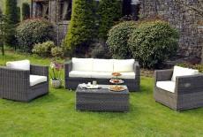 Mobilier jardin resine tressee - Starwax