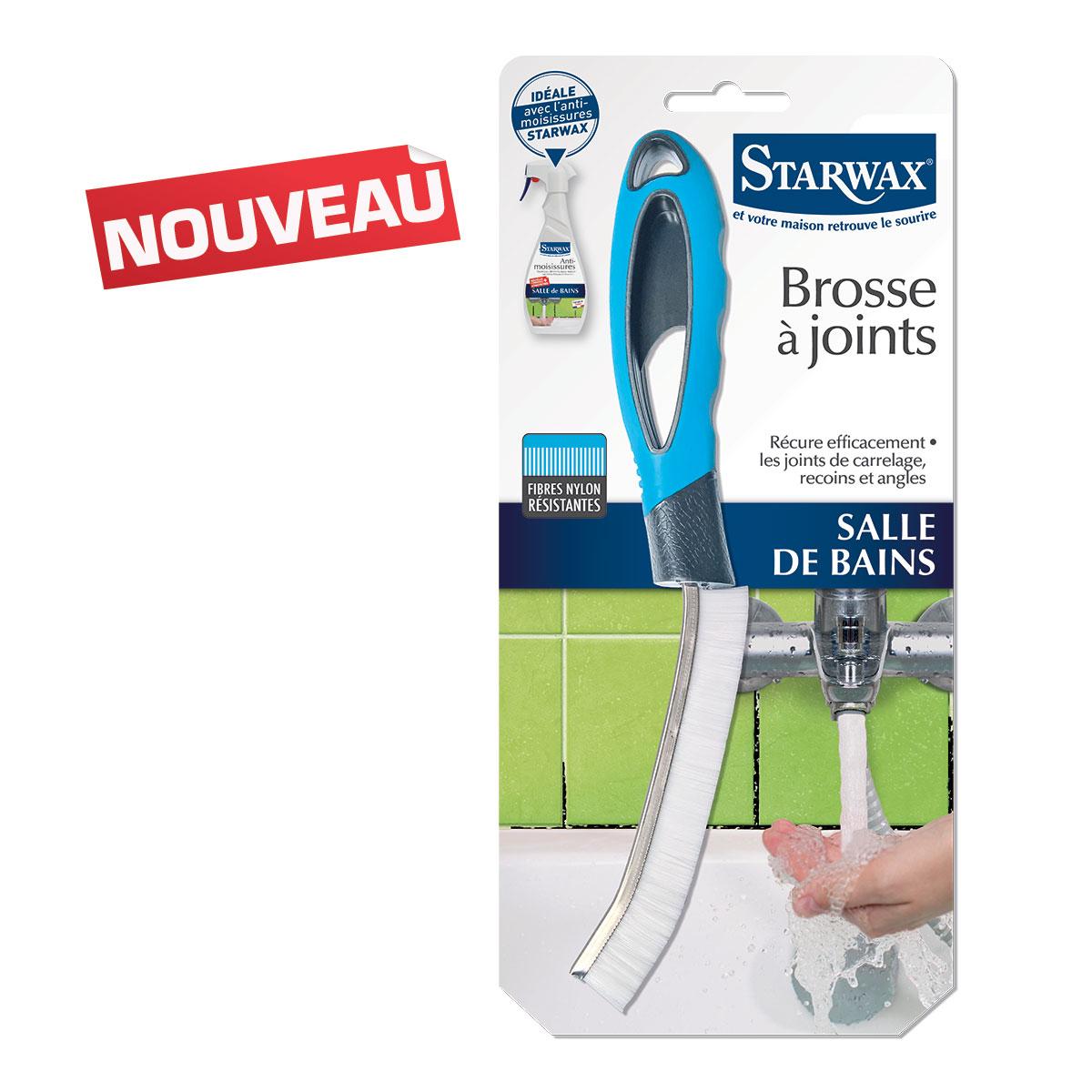 Brosse joints starwax produits d entretien maison for Produit anti moisissure salle de bain