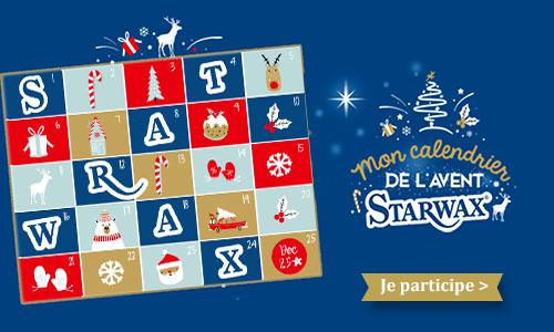 Participez au calendrier de l'avent Starwax