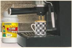 banniere acide citrique machine à café